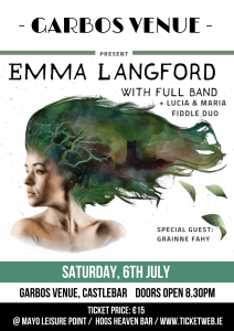 Emma Langford with Full Band